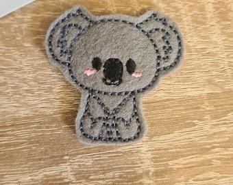 Koala Kawaii Cute Cuddly Enclosed Paper Clip