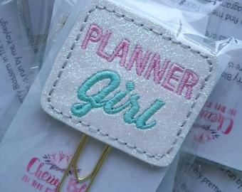 Planner Girl Paper Clip