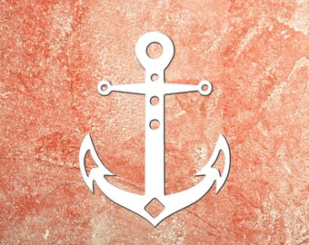 Wall Art, Anchor, Tropical, Outdoor Decor, Housewarming Gift, Custom Sign, Coastal, Nautical, Tropical, Ships Free to Mainland USA