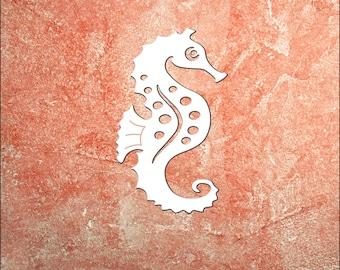 Wall Art, Seahorse, Tropical, Outdoor Decor, Housewarming Gift, Custom, Coastal, Nautical, PVC Wall Art, Long Lasting