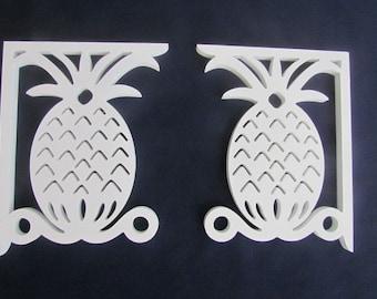 Screen Door Decor - Pineapple Original X2 Pieces, Mailbox Bracket, Custom Mailbox,  Outdoor Decor, 7x9 inch Free Shipping To Mainland USA