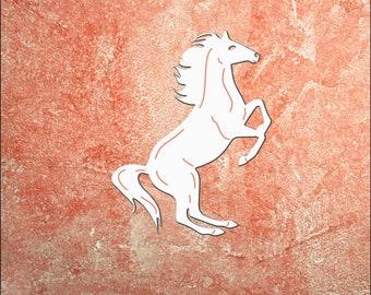 Wall Art, Horse, Tropical, Outdoor Decor, Housewarming Gift, Farm, Stables, PVC Wall Art, Long Lasting