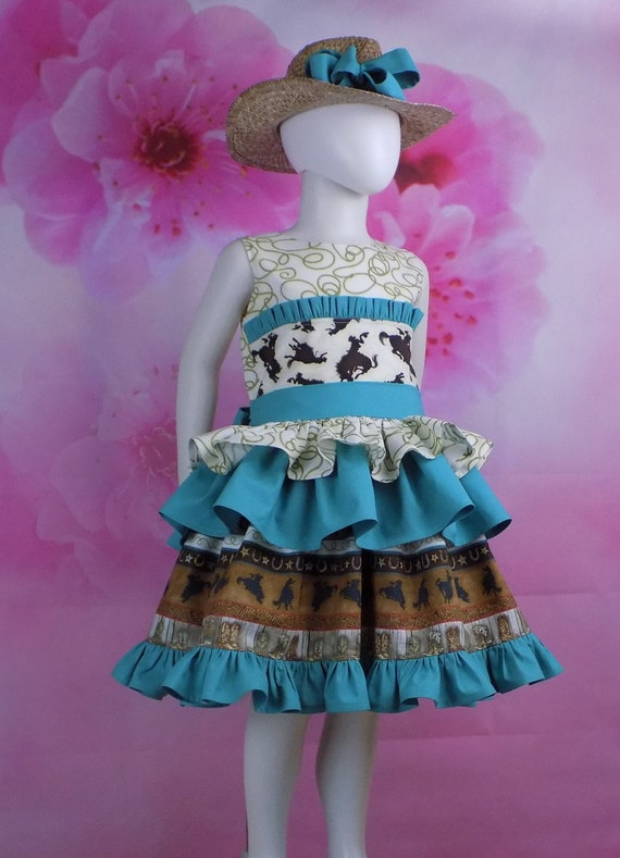 Girls Western Pageant Dresses