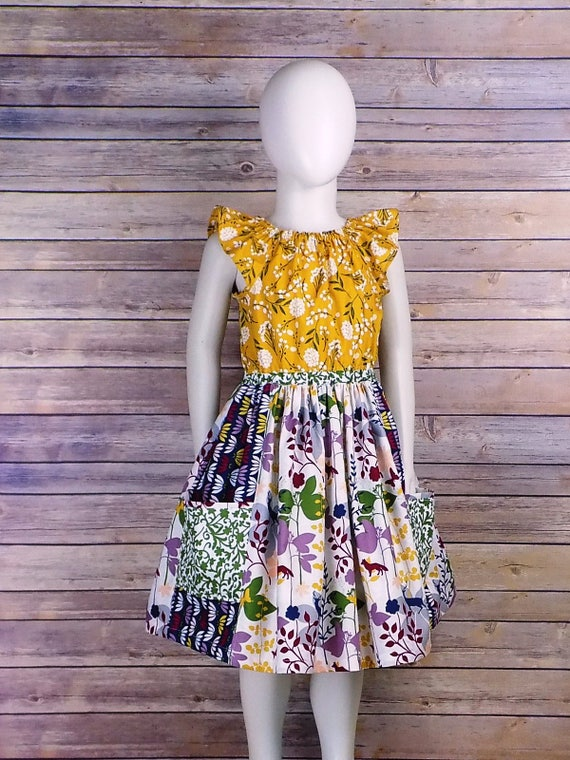 a09005c61 Woodland Dress Girls Fall Clothing Fall Dress Deer Fox