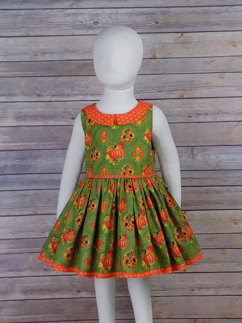 5d3965e941a Girl Fall Dress Autumn Dress Thanksgiving Dress