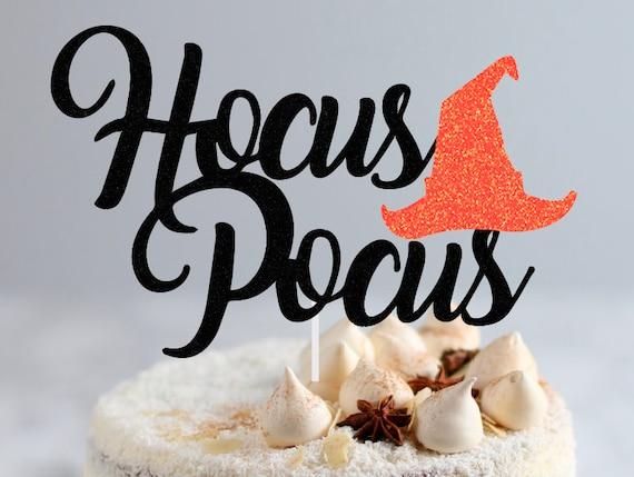 Hocus Pocus Book Halloween Cake topper USA Seller!! Fast shipping!!!!