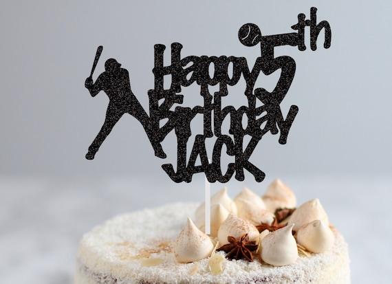 Fine Baseball Birthday Cake Topper Happy Birthday Cake Topper Etsy Funny Birthday Cards Online Fluifree Goldxyz