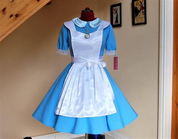90s Alice in wonderland dress