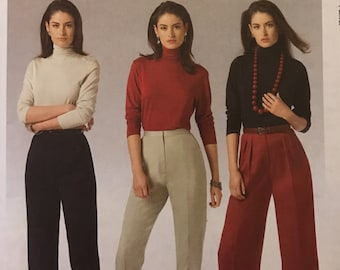 63863475131 McCalls M5239 5239 Pattern - Perfect Fit Pants with Back Zipper and Darts -  Size 8 10 12 14 OR 16 18 20 22 UNCUT