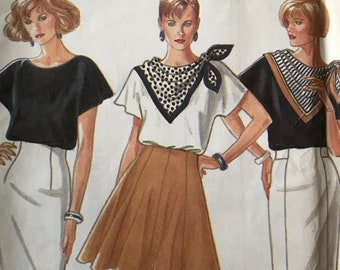6106 MISSES/' SKIRTS Sewing Pattern NEW LOOK  A Line in 3 lengths Sizes 10-22