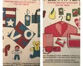 McCalls 20 Felt Patterns Pillows Stuffed Toys Eyeglass Case Pincushion Needlebook Hanger Cover Jewelry Roll  UNCUT IL