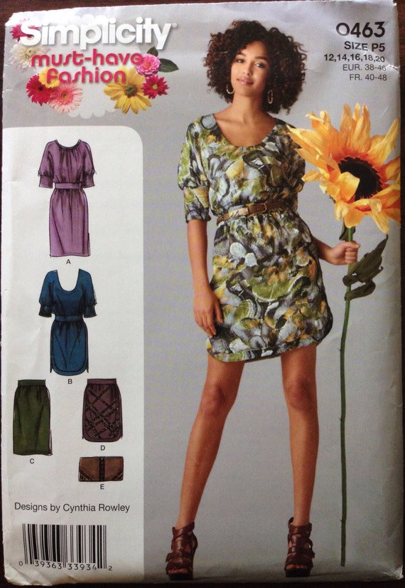 Simplicity Sewing Patterns 8058 Misses Pants Jacket Skirt Size 12-20 P5