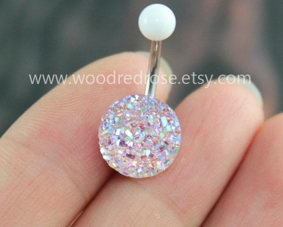 Sparkling Belly Ringblingbling Belly Button Ringclear And-8711