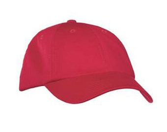 Garment Dyed Hat, Berry