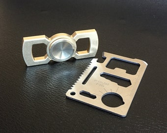 Rotobow Fidget Spinner and Wallet Tool Card Set