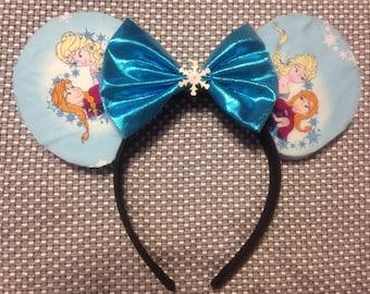 Anna and Elsa Mouse Ears