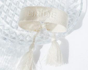 Bride Bride Bracelet in Ivory Offwhite