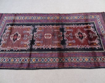 Size:8.5 ft by 4 ft Handmade Rug Best Afghan Baluch Tribal Soft Carpet