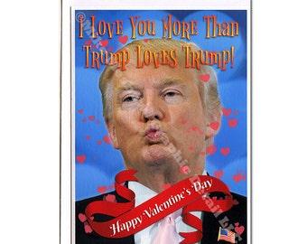 Trump Valentines Etsy
