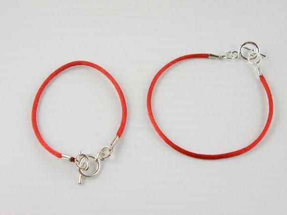 Cordon rouge Bracelet Kabbale Protection chaîne unique bascule   Etsy a5cb2396b859