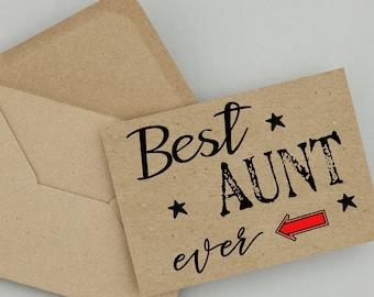Aunt,Birthday Card,Printable Card,Instant Download,Aunt Birthday Card,PDF Birthday Card,Greeting Card,Happy Birthday, Auntie Birthday, Aunty