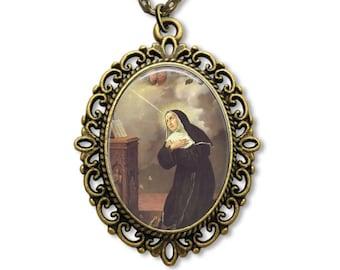 Saint Rita, Religious Medal, Saint Rita de Cascia, Patron saint, St Rita, Rita Medal, Catholic Medal, Religious Gifts, Catholic Gifts