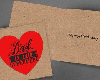 Dad Birthday Card,Printable Card,Instant Download,Birthday Card Dad,PDF Birthday Card,Greeting Card,Dad Card,Happy Birthday