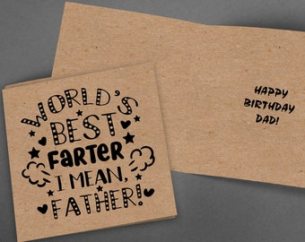 Funny Dad Card,Printable Card,Instant Download,Card for Dad,PDF Birthday Card,Greeting Card,Dad Birthday Card,Happy Birthday