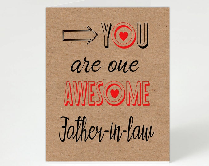 Featured listing image: Father-in-law Birthday,Father-in-law Card,Father-in-law,Card for Father-in-law,Father-in-law Birthday Card,Personalised Father-in-law,