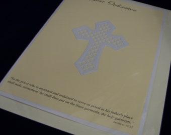 Ordination Card, Card for Nun, Card for Priest, Ordination Congratulations Card, Priest Ordination, Religious Life Card,