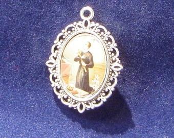 Saint Gerard Majella Religious Medal, Patron saint of motherhood, Patron Saint Mothers, Patron Saint the unborn, Catholic Medal,