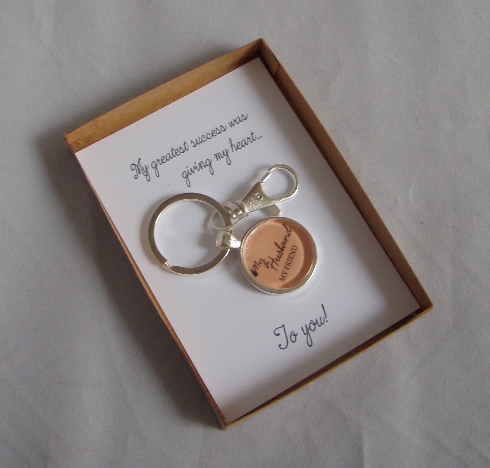 Husband Gift My Greatest Success Was Key Ring Hsband