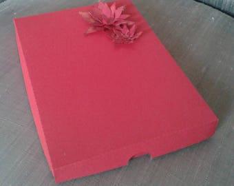 5 x Gift Boxes, Box, Packaging, A5 Boxes, Card Box, Choose Colors, 21.5x15x2.5cms, 8 1/2x6x1