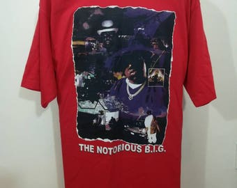 bbe5f5f41d79 NOTORIOUS B.I.G. t-shirt Large Big&Tall size
