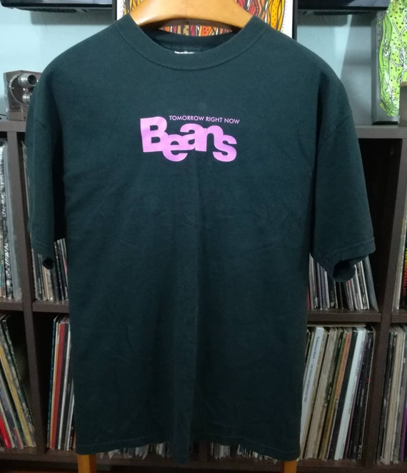 BEANS Tomorrow Right Now L t-shirt Warp Records An