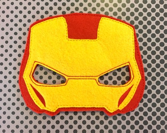 Ironman Felt Mask