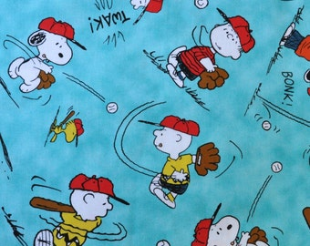 6dd62c376090 CUSTOM BOXER SHORTS, For the Snoopy Fan, Charlie Brown and the Peanuts Gang  Playing Baseball, Turquoise Background, Choose Size