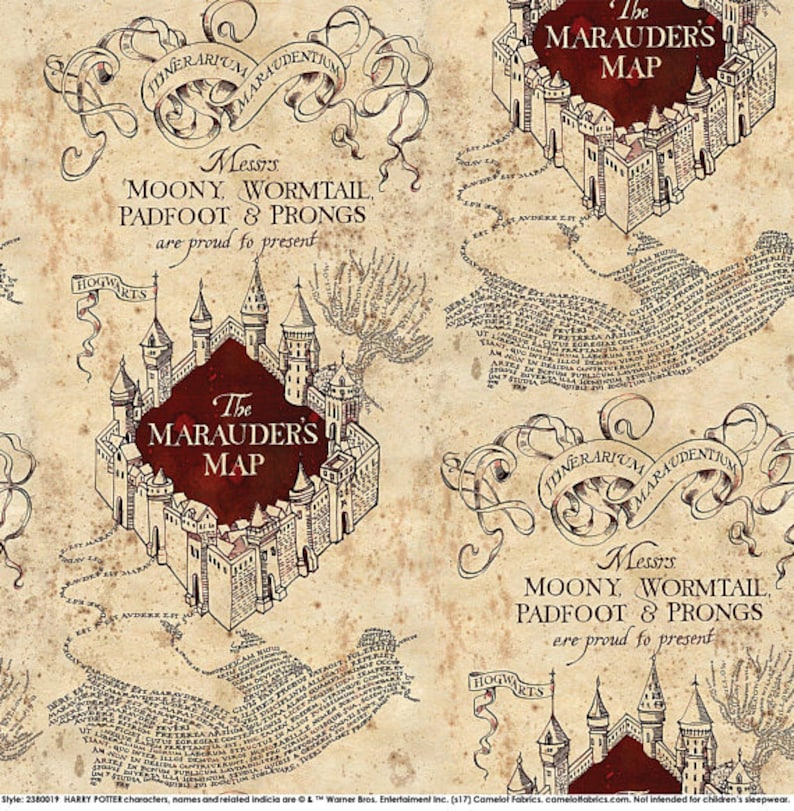 World of the Wizards Maps and Place Names CUSTOM BOXER SHORTS Made to Order Choose Size and Pattern