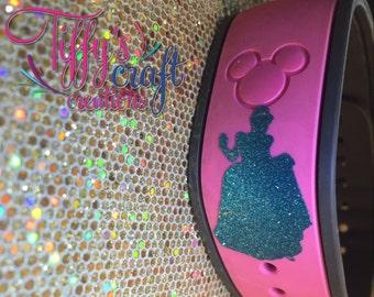 Cinderella Magic Band Decal
