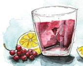 Currant Ice Tea - Karte -...
