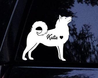 Husky Sticker Etsy