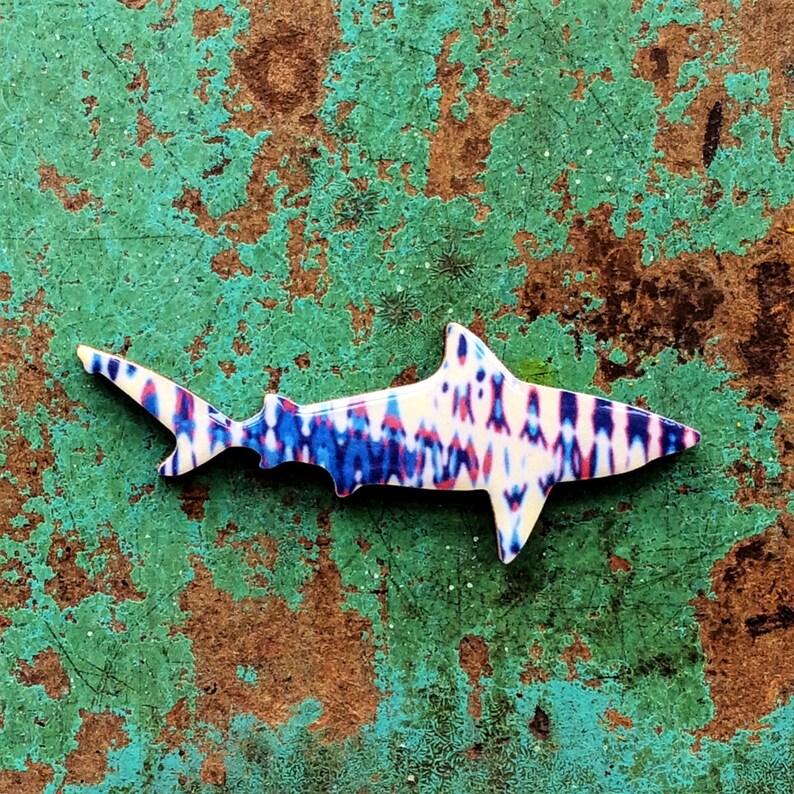 Shark Necklace / Shark Brooch  Bull Shark Necklace or Brooch image 0