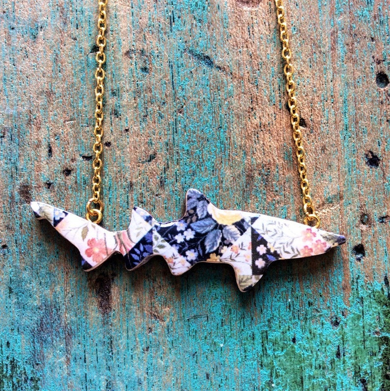 Shark Necklace  Ragged Tooth Shark Necklace Handmaid by image 0