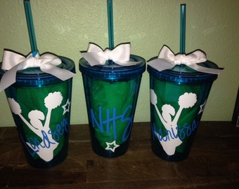 SALE Personalized Cheer Tumbler Team Gifts