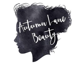 Premade Logo Design, Watercolor Logo, Feminine Logo, Beauty Logo, Makeup Artist Logo, Hair Stylist Logo, Minimalist Logo, Silhouette Logo