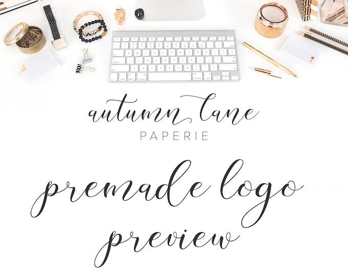 Logo Test Drive - Premade Logo Preview