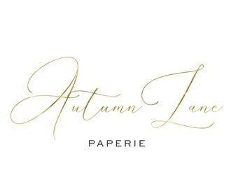 Premade Logo Design, Simple Logo, Text Logo, Watermark Logo, Modern Logo, Gold Logo, Watercolor Logo, Boutique Logo, Feminine Logo, Elegant