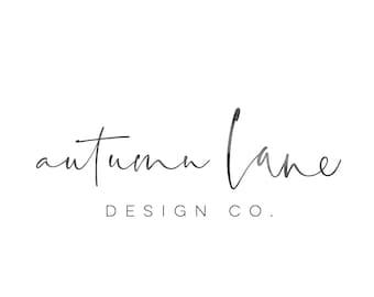 Premade Logo Design, Simple Logo, Text Logo, Watermark Logo, Modern Logo, Watercolor Logo, Signature Logo, Minimalist Logo Design, Wordmark