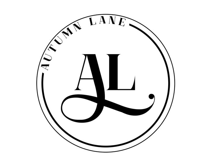Premade Logo Design, Simple Logo, Text Logo, Watermark Logo, Modern Logo, Black Logo, Boutique Logo, Elegant Logo, Circular Logo