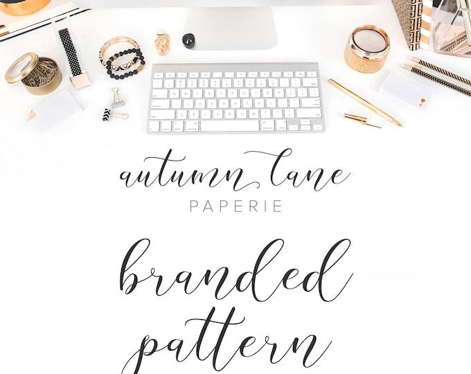 Graphic Design - Branded Pattern Design - Business Branding - Branding Package